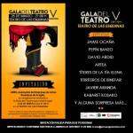 Invitación Gala del Teatro 2013