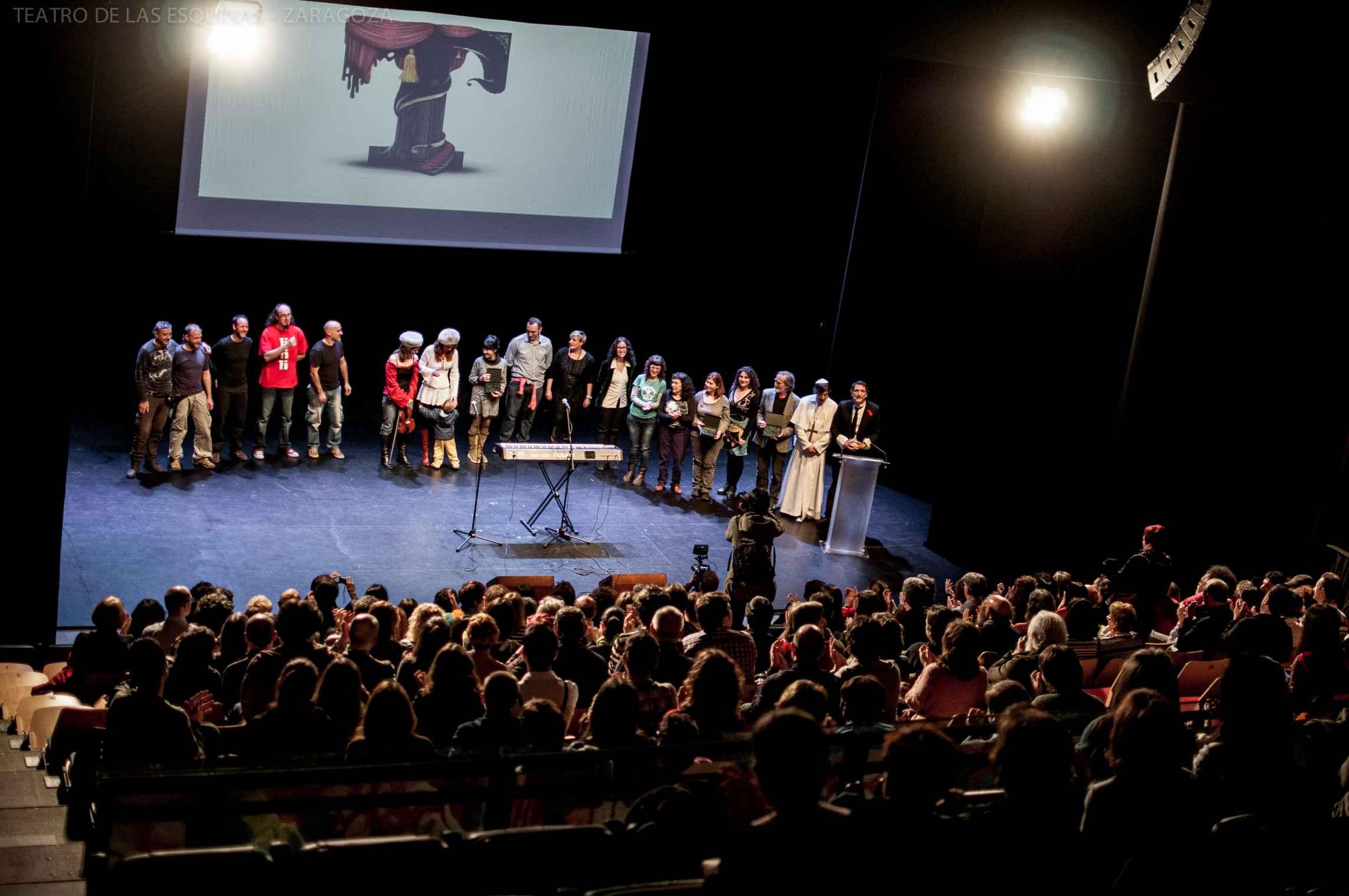 Gala del Teatro 2013 en el Teatro de las Esquinas de Zaragoza