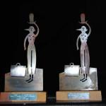 Esculturas de los Premios  Acto de Entrega Premios Parque de las Marionetas 2013 (Foto Abel Alvaredo)