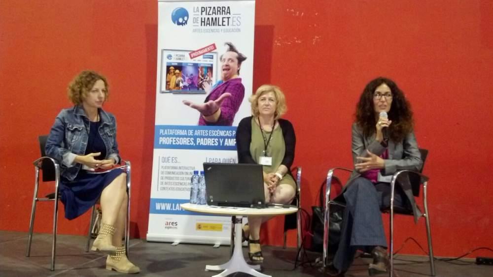 Presentación en Huesca de La Pizazrra de Hamlet