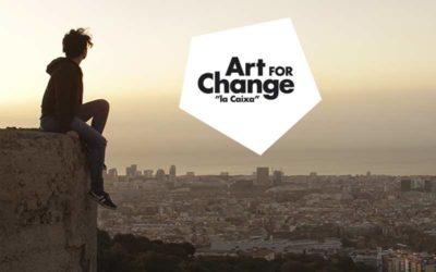 """AYUDAS AL TEATRO Y LA DANZA ART FOR CHANGE """"LA CAIXA"""""""